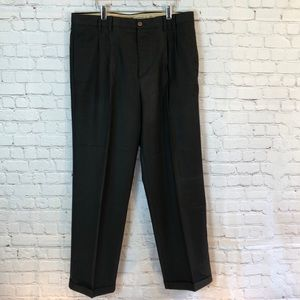 Caribbean Joe black trouser w cuffs